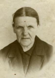 Józefa Harasim. The mother of Teofilia Bajak.
