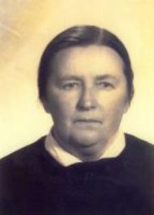 Teofila Bajak, née Harasim, the wife of Aleksander, c.1960.