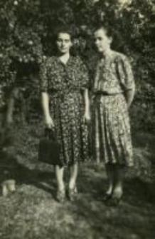 Władysława Słotwińska (z domu Dudziak) w młodości. Lata powojenne
