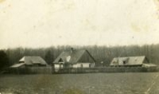 Głodno forester's lodge, c. 1936 - 1937