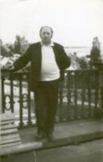 Jan Szmulewicz in Warsaw. A view from the terrace of Królikarnia, Mokotów 1984
