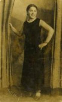 Dorota Szmulewicz, the oldest sister of Jan Szmulewicz, thirties, 20. century
