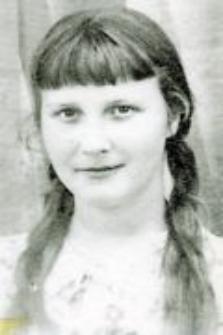 Barbara Stankiewicz. Córka Stanisława i Barbary Stankiewiczów, 1941
