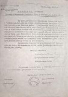 Oświadczenie uratowanych przez małżeństwo Stankiewiczów: Szlomy Szmulewicza, Abrama Szpigielsztajna, Jakuba Nagelsztajna z 1947 roku.