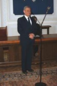 """Tadeusz Stankiewicz. Uroczystość wręczenia medali """"Sprawiedliwy wśród Narodów Świata"""", Warszawa, 11 kwietnia 2007"""