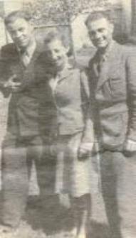 Franciszka Olesiejuk (Iwaniuk), Noah Rodzynek, David Finkelsztajn