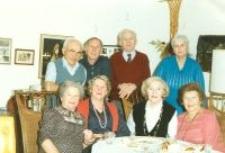 Franciszka Olesiejuk z domu Iwaniuk, Noah Rodzynek i Perla Rodzynek z domu Goldszeft. 1988 rok.