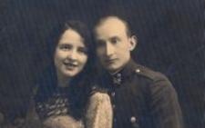 Eufrozyna i Edward Trzeciakowie, rodzice Stanisława