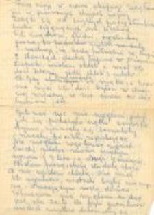 Written testimonies of Eufrozyna Trzeciak (1)
