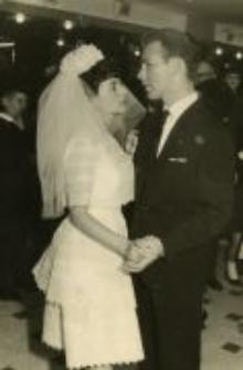 Ryfka Goldiner on her wedding, Israel