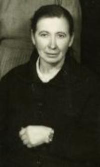Helena Wiślińska. The mother of Marianna Turek, Elbląg 1960