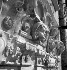 Sztukaterie Kamienicy Sobieskich w Lublinie