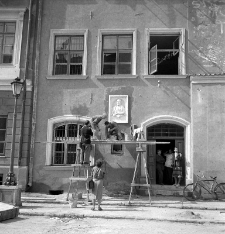 Prace renowacyjne na Starym Mieście w Lublinie