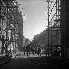 Prace renowacyjne na ulicy Grodzkiej w Lublinie