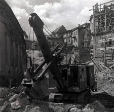 Prace remontowe na ulicy Podwale w Lublinie