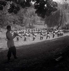 Festyn w okolicach Zamku Lubelskiego
