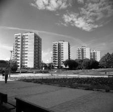 Bloki mieszkalne przy ulicy Nadbystrzyckiej w Lublinie