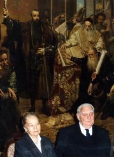 Julia Hartwig i Edward Hartwig