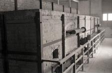 Piece krematoryjne na terenie byłego obozu koncentracyjnego na Majdanku