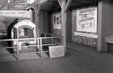 Fragment ekspozycji na terenie byłego obozu koncentracyjengo na Majdanku