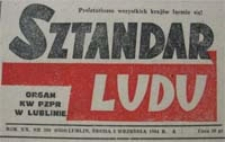 Sztandar Ludu 1964 nr 217 : Fakty i wydarzenia