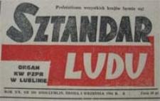 Sztandar Ludu 1964 nr 220 : Fakty i wydarzenia