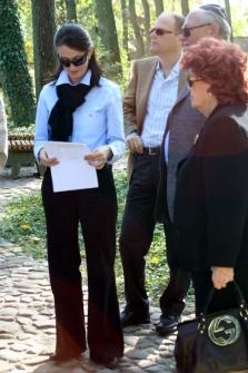 Rodzina Ariava Nimroda podczas uroczystości na kirkucie w Bełżycach