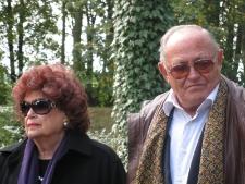 Ariav Nimrod z żoną Odette
