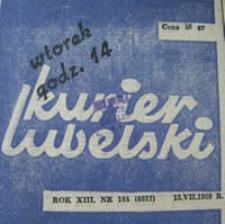 Kurier Lubelski 1969 nr 164 : [Kto bronił Lublina?] ; [Jak ratowaliśmy płonący Lublin?]
