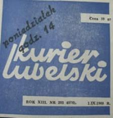 Kurier Lubelski 1969 nr 203 : [Tamten wrzesień] ; [Pierwsze zwycięstwo polskiego lotnika] ; [Bezimienni bohaterowie obrony Lublina]