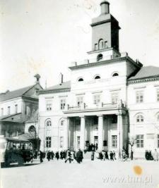 Widok na Ratusz w Lublinie