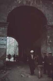 Widok przejścia Bramy Grodzkiej w Lublinie
