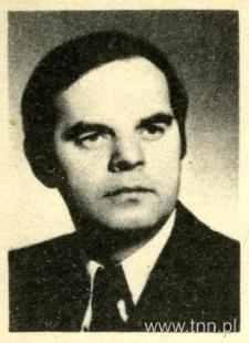 """Tadeusz Kłak, fot. z okładki jego ksiązki """"Reporter i róże"""""""