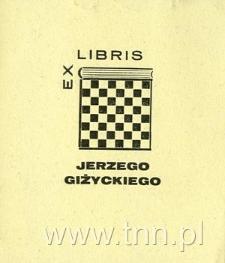 Ekslibris Jerzego Girzyckiego
