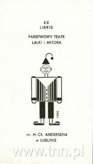 Ex libris Państwowy Teatr Lalki i Autora im. H. Ch. Andersena w Lublinie