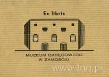 Ekslibris Muzeum Okręgowego w Zamościu