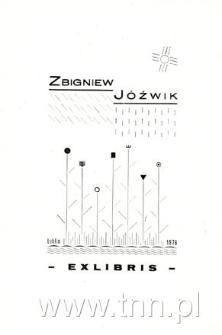 Zbigniew Jóźwik Ekslibris
