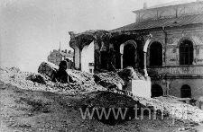 ruiny dzielnicy żydowskiej