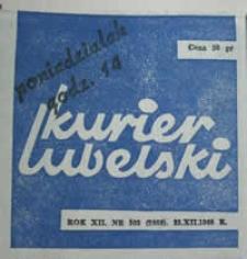 Kurier Lubelski 1968 nr 303 : Kto bronił Lublina? (27)