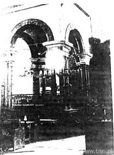 Lublin. Wnętrze Synagogi Maharszala