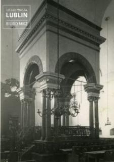 Lublin. Synagoga Maharszala. Wnętrze