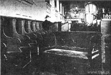 Lublin. Wnętrze Synagogi Maharama