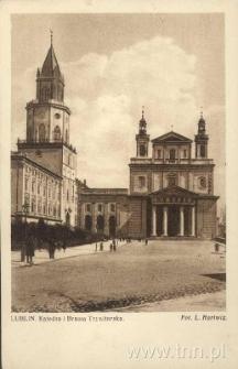 Lublin. Katedra i Wieża Trynitarska
