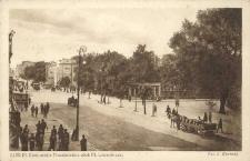 Lublin, Krakowskie Przedmieście obok Placu Litewskiego