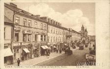 Lublin. Krakowskie Przedmieście z widokiem na kościół Św. Ducha