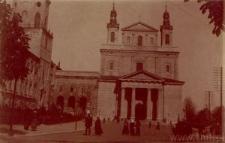 Lublin. Katedra i Plac Katedralny