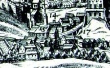 Brama Grodzka w Lublinie - fragment Widoku Lublina Hogenberga i Brauna