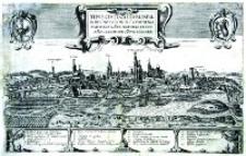 Widok miasta Lublina Hogenberga i Brauna