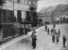 Lublin, Skrzyżowanie ulic Szerokiej, Krawieckiej, Zamkowej, tzw. psia górka