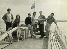 Studenci historii sztuki na wycieczce w Kazimierzu Dolnym